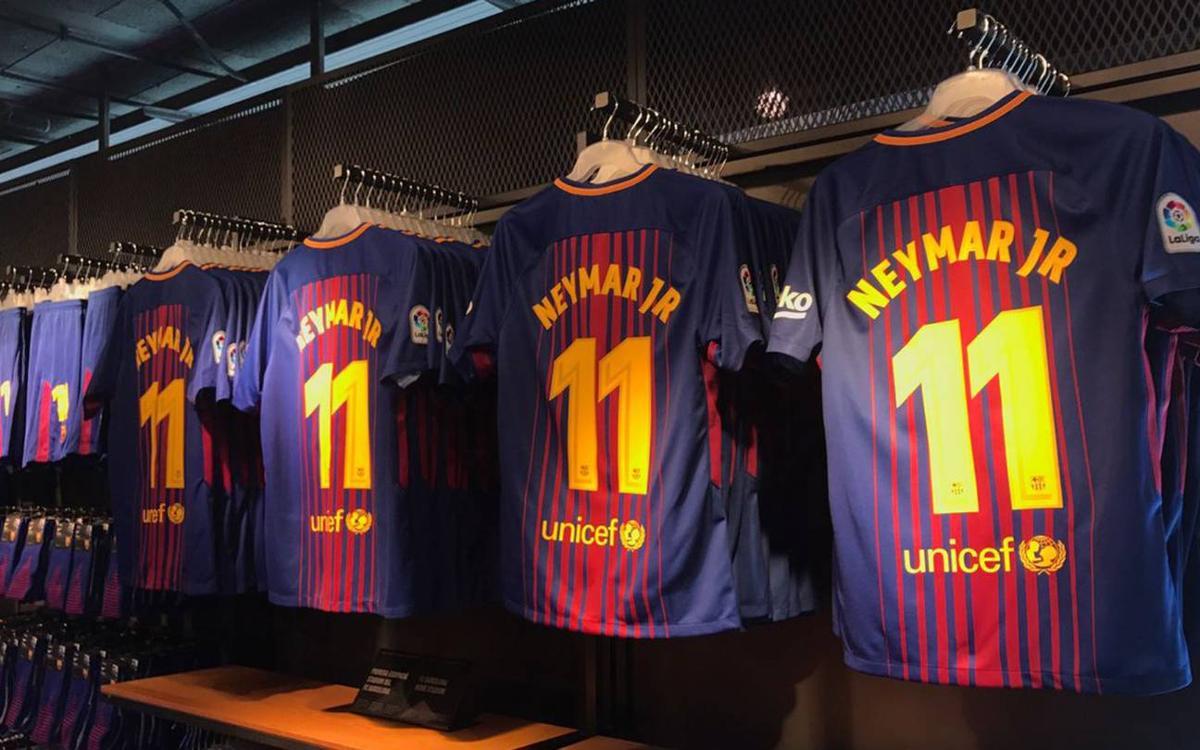 FC Barcelona's new kit goes on sale