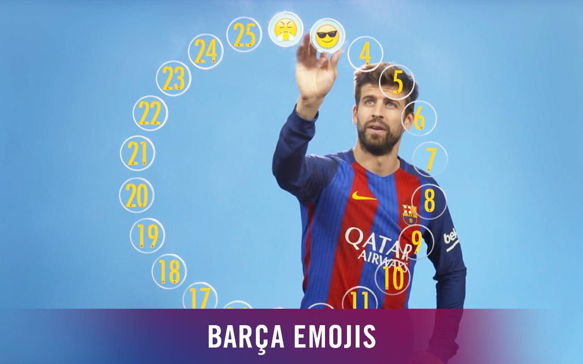 Barça Emojis: Gerard Piqué