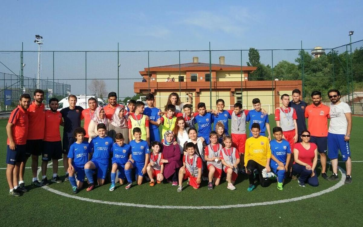 Inclusive day at FCBEscola Istanbul Beko
