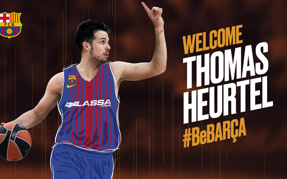 Thomas Heurtel, creativity and scoring for Barça Lassa