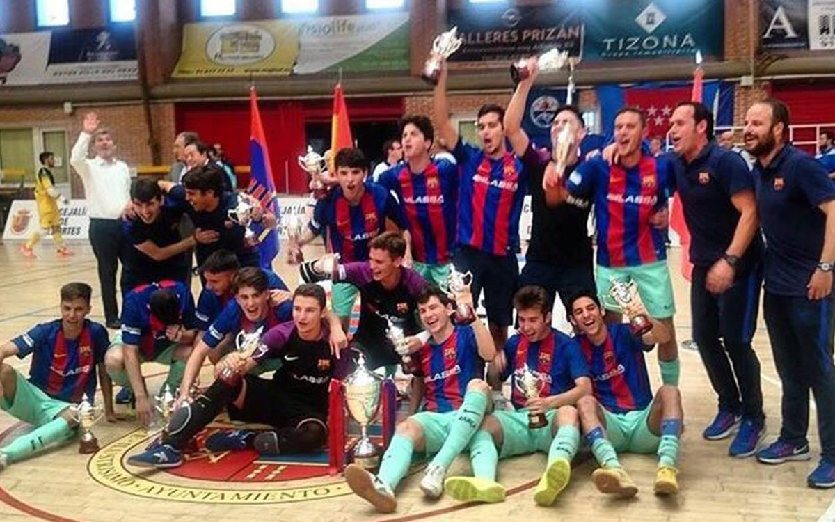 Barça Lassa Juvenil - ElPozo Murcia: ¡Campeones de la Copa de España! (2-1)