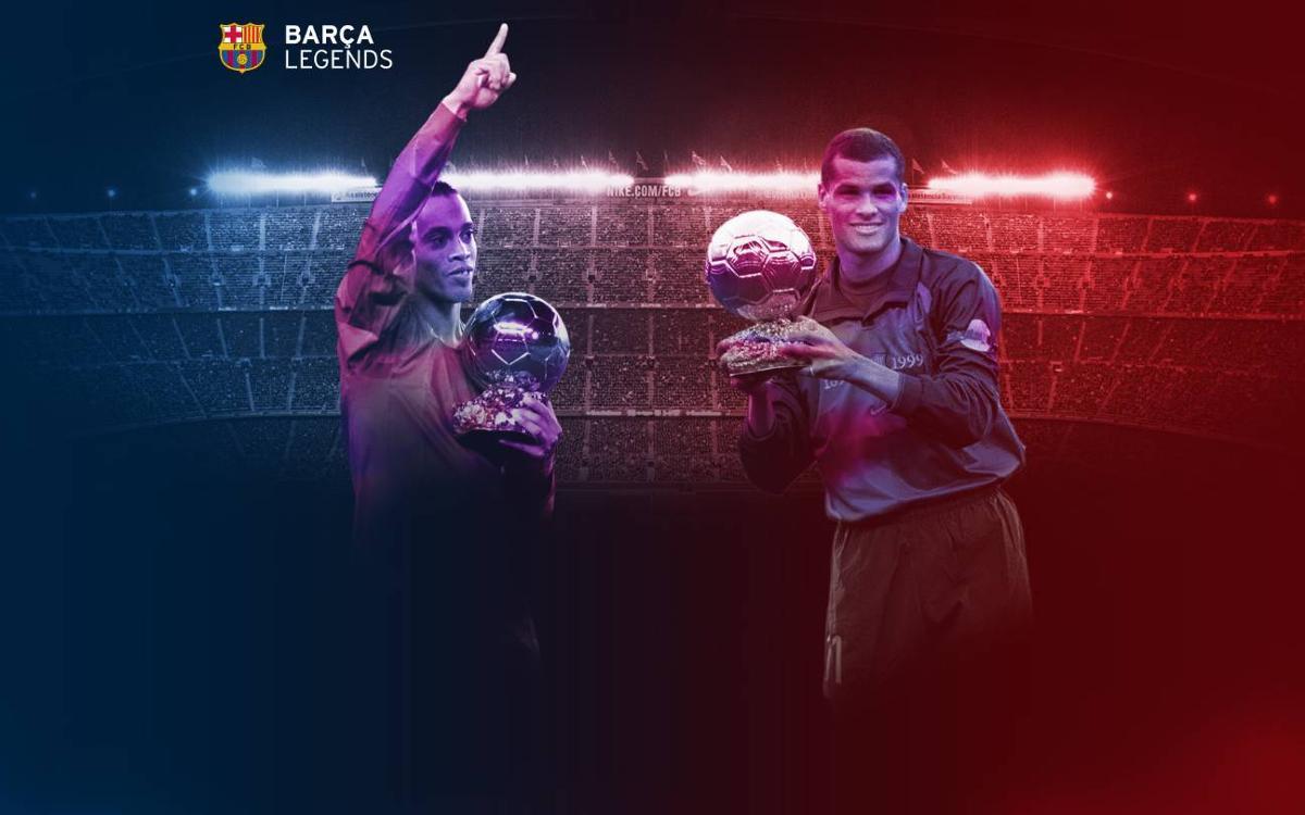 Dos Balones de Oro vuelven al Camp Nou