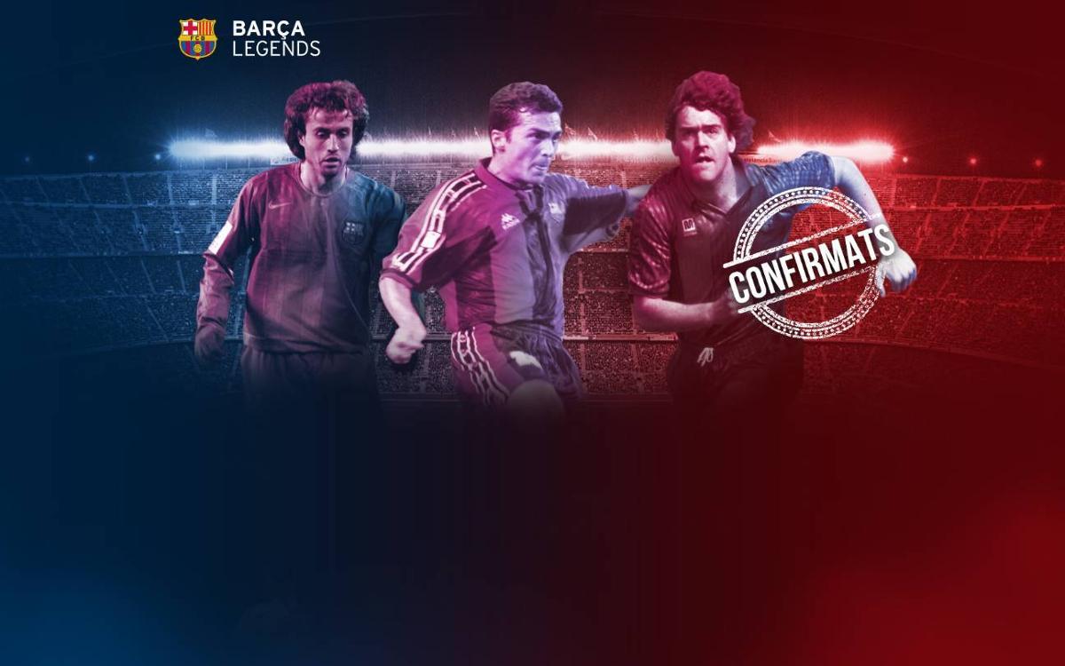 Completada la llista de convocats per jugar amb els Barça Legends
