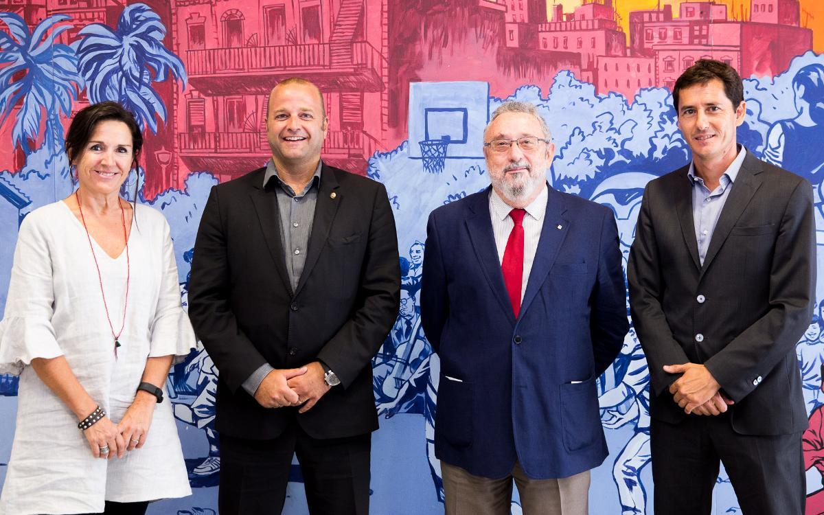 La Ciudad Deportiva recibe la acreditación Amed para promocionar la alimentación saludable en la Residencia Masía y en todo el recinto
