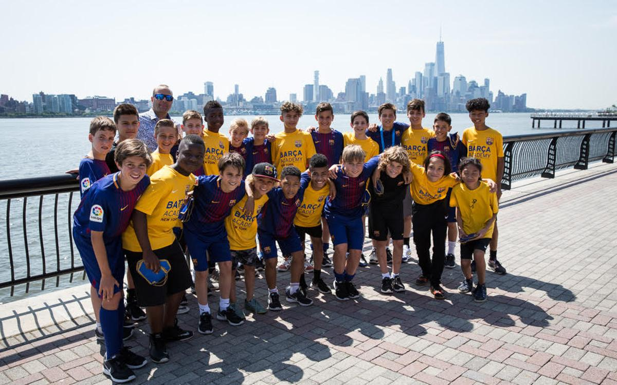 Barça Academy Pro NY shows big support for FC Barcelona U12A