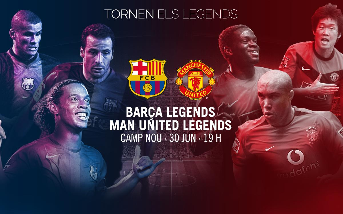 El partido de los Barça Legends, en Barça Video, servicio de video bajo suscripción