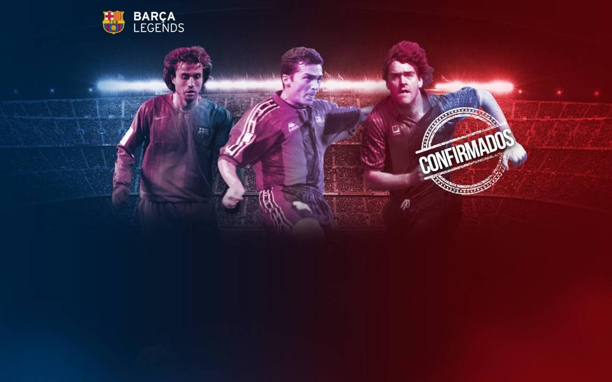 Completada la lista de convocados para jugar con los Barça Legends