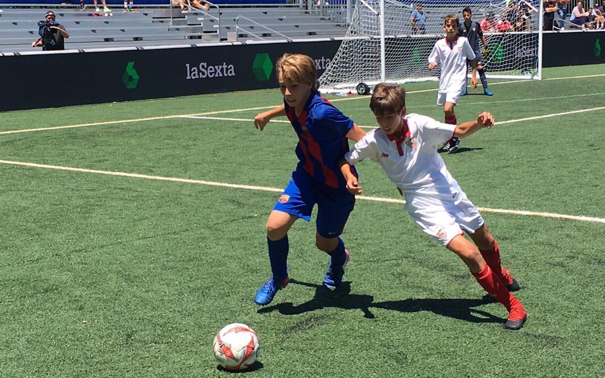U12A team through to LaLiga Promises Internacional semi-finals