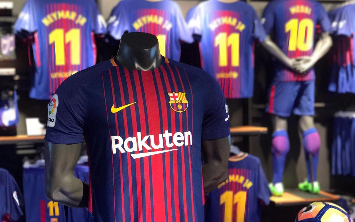 FC バルセロナの新ユニフォーム、発売