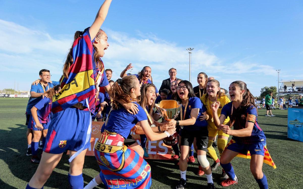Juvenil-Cadet – RCD Espanyol: Campiones de Catalunya! (2-1)