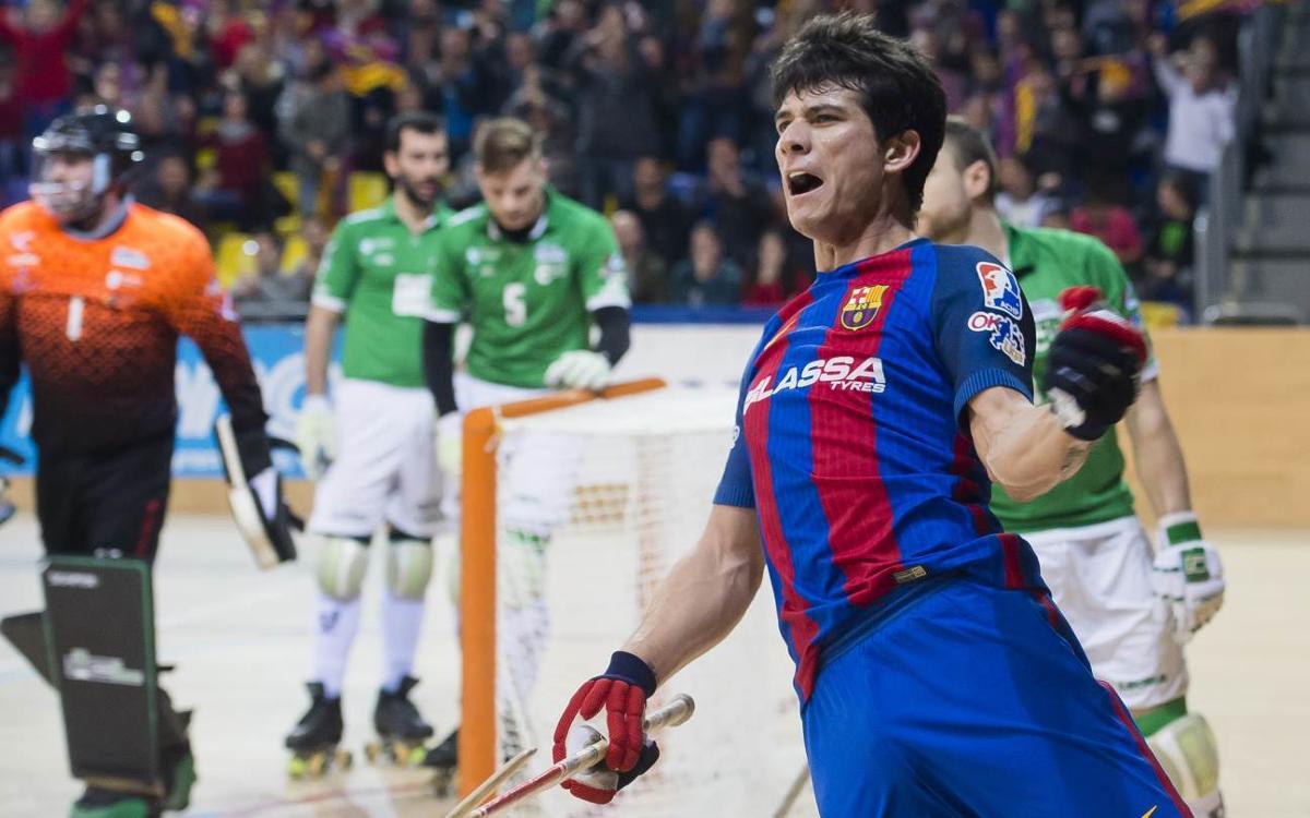 FC Barcelona Lassa – HC Liceo: Remontada merecida para empezar el año (2-1)