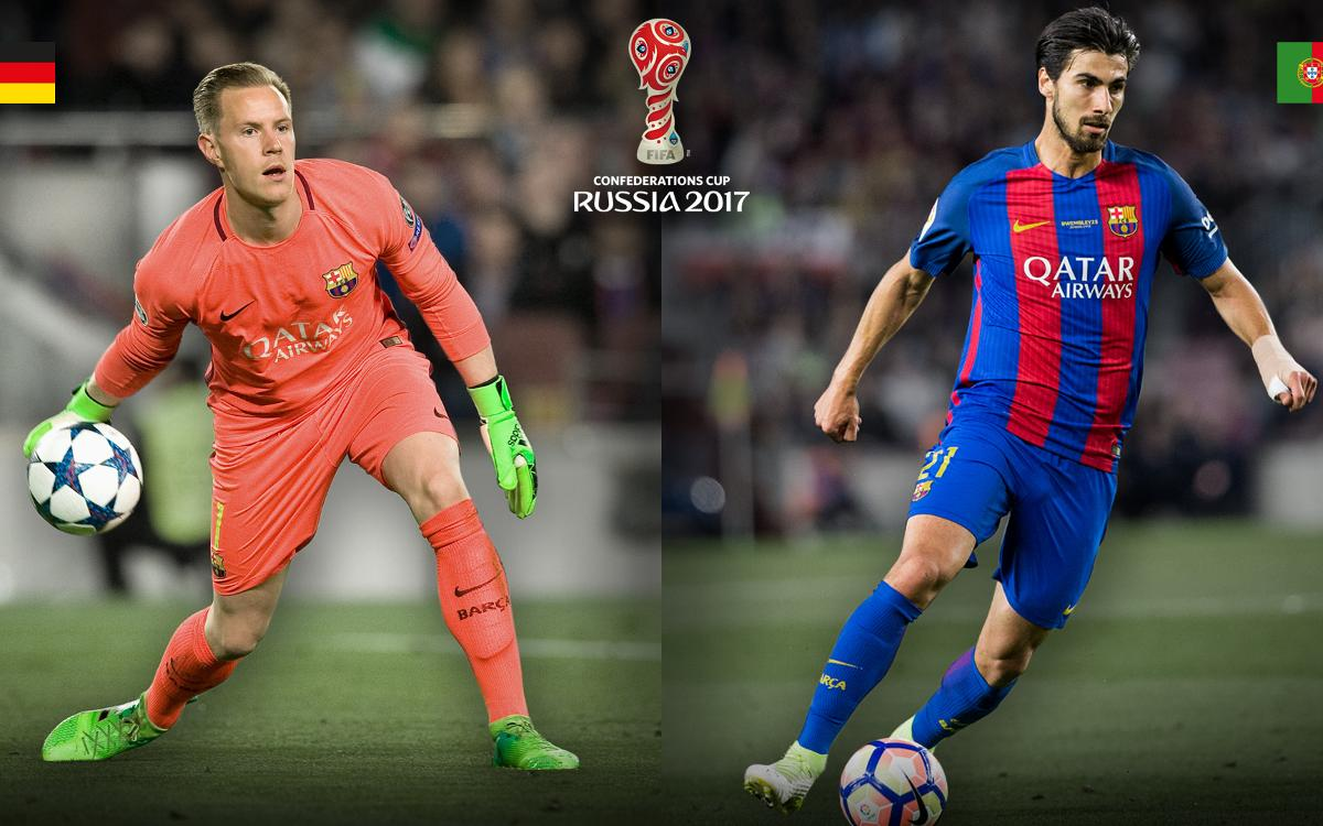 2017 Confederations Cup opens; two FC Barcelona players taking part