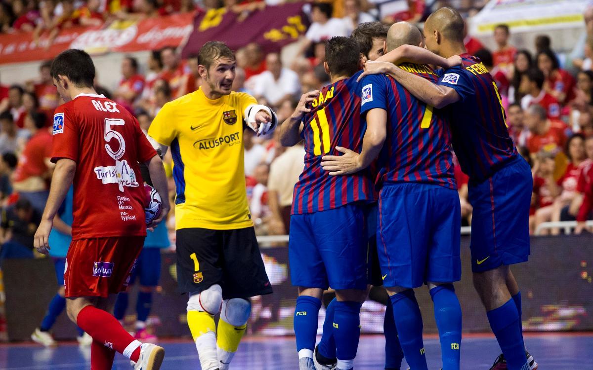 El Barça sabe ganar en Murcia
