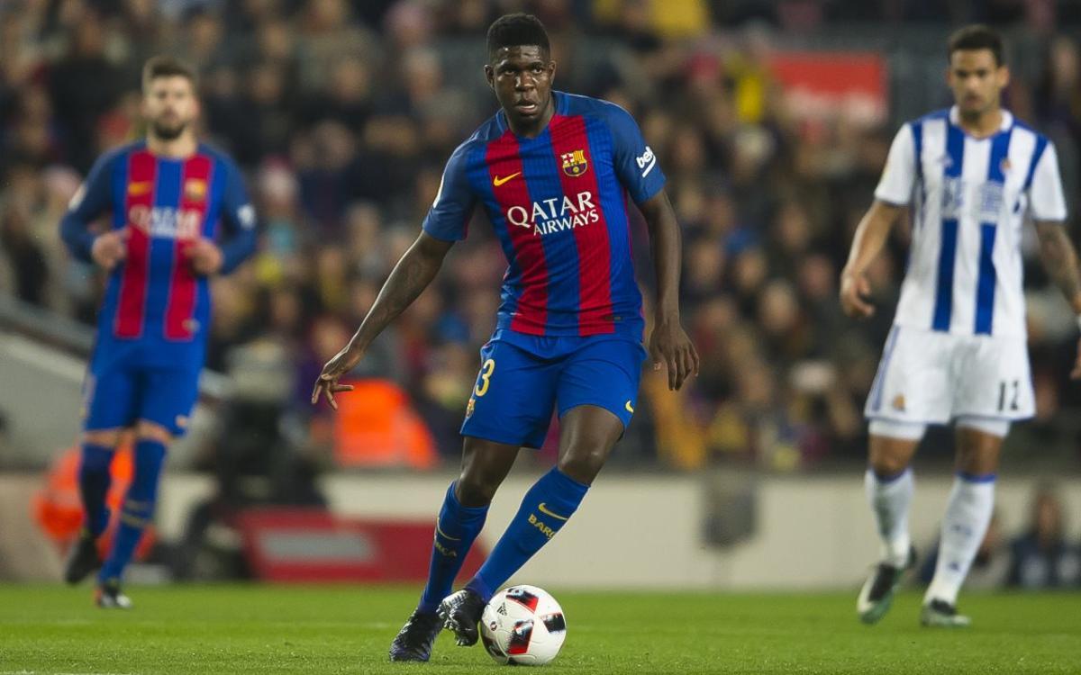 Samuel Umtiti : Une saison à prendre du galon au FC Barcelone