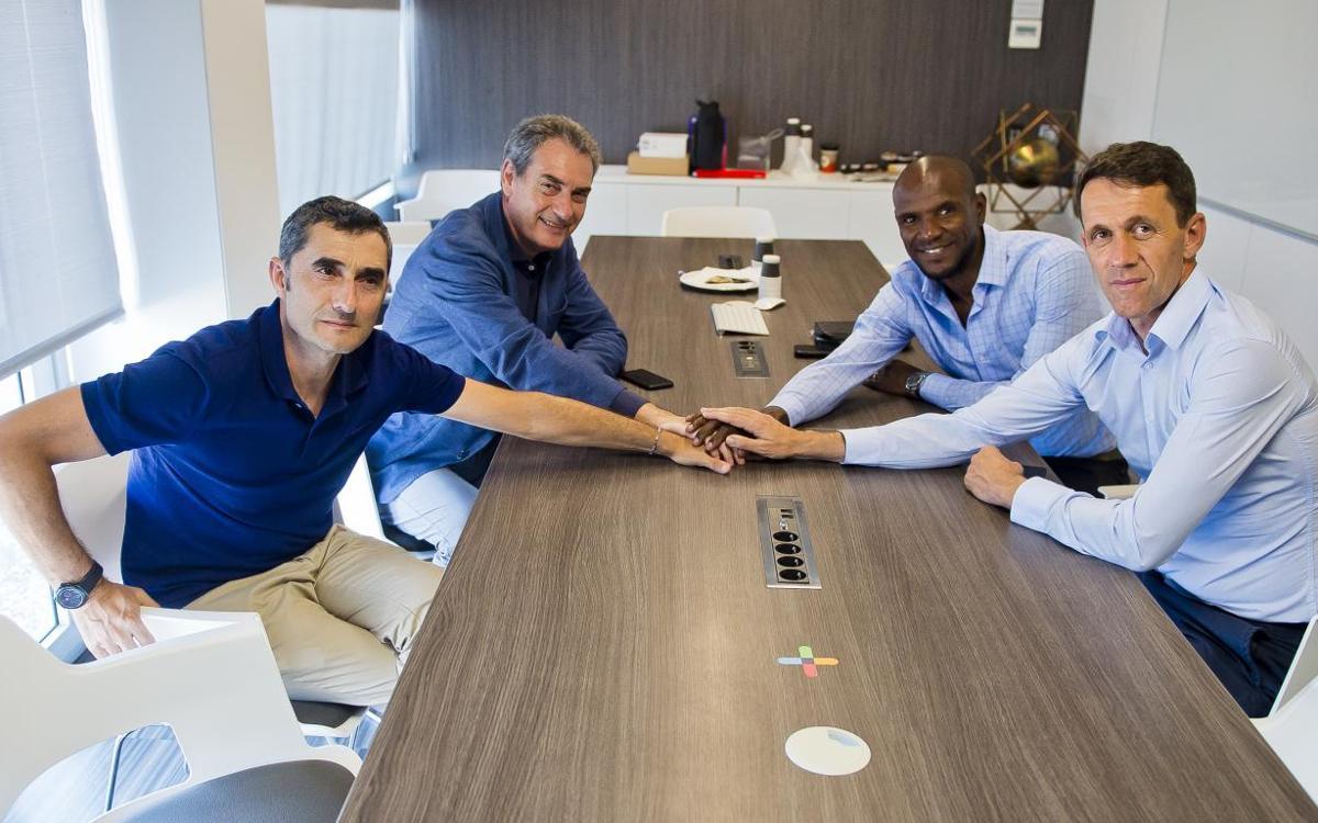 Reunión técnica en la Ciudad Deportiva
