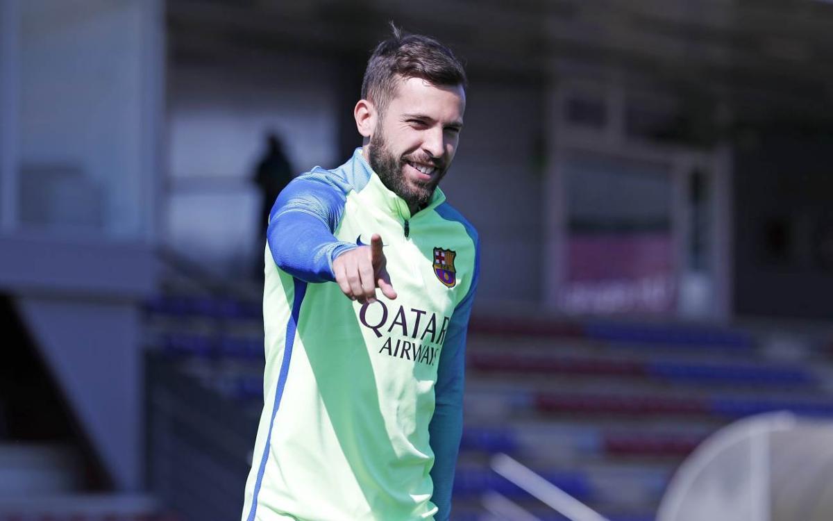 """Jordi Alba: """"Valverde és un entrenador valent"""""""