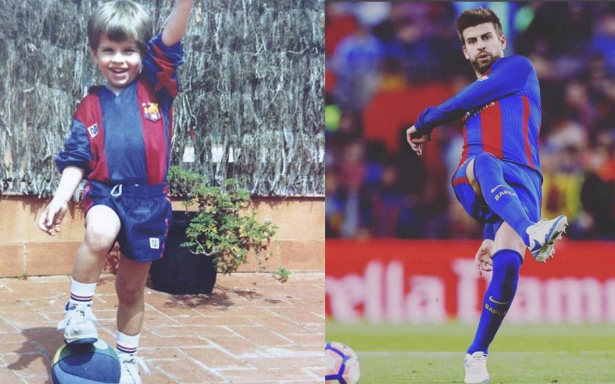Vidéo - Gerard Piqué, de la Masia à l'équipe première du FC Barcelone