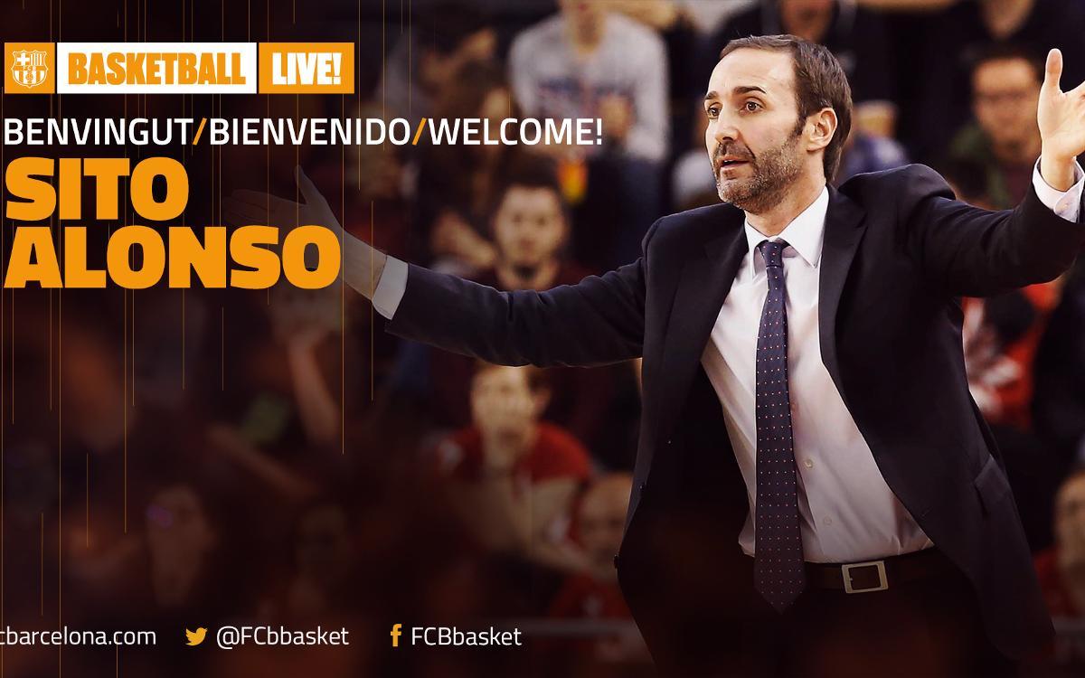 Sito Alonso named head coach of FC Barcelona Lassa