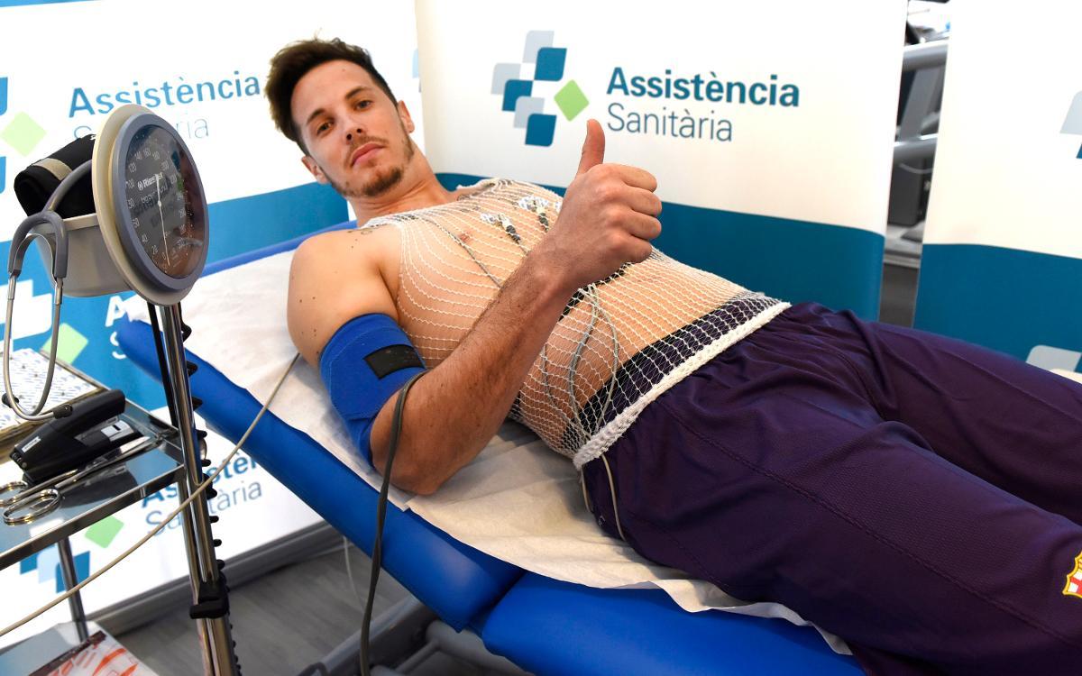 Thomas Heurtel supera la revisió mèdica