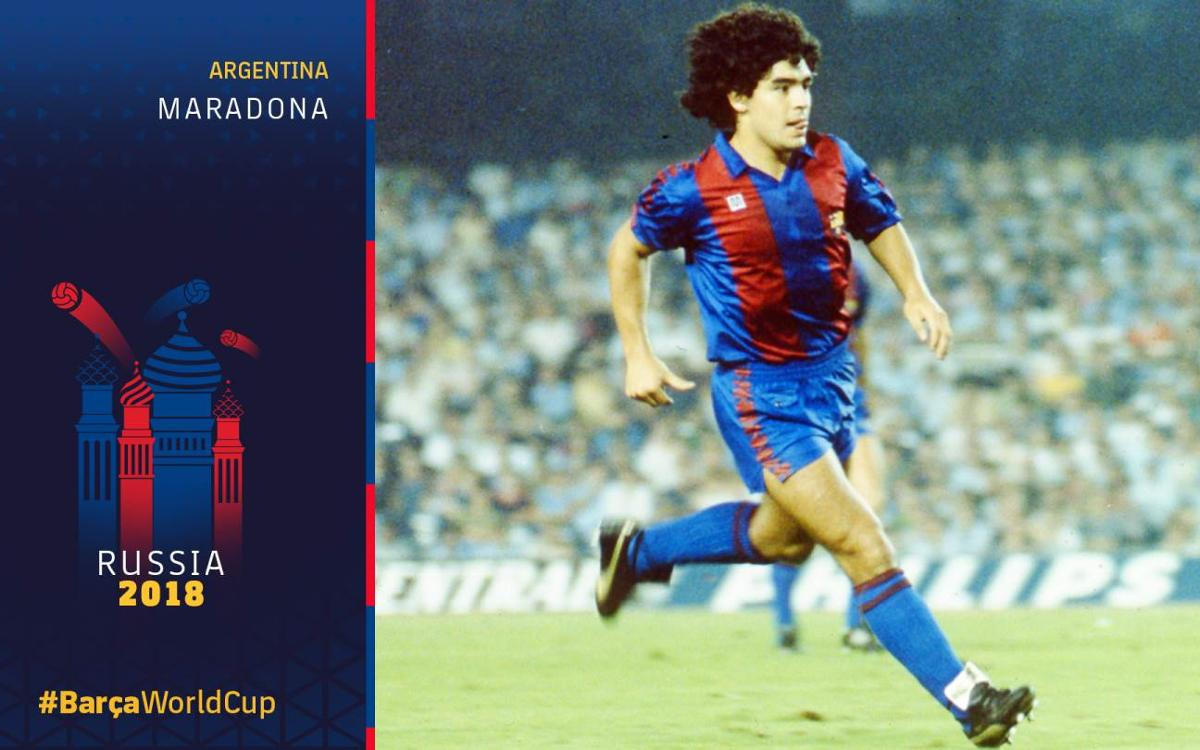 Barça at the World Cup, Part 4: The signing of Maradona