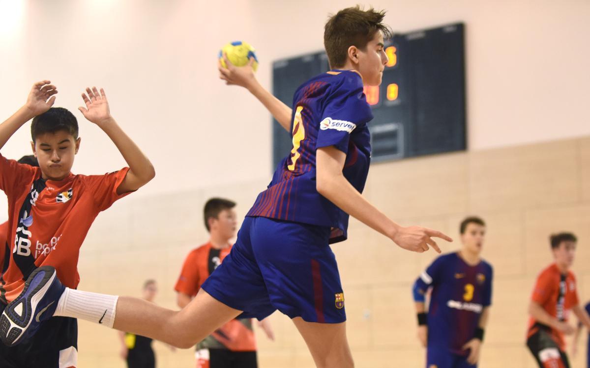 Arranca el Campeonato de España Infantil de balonmano