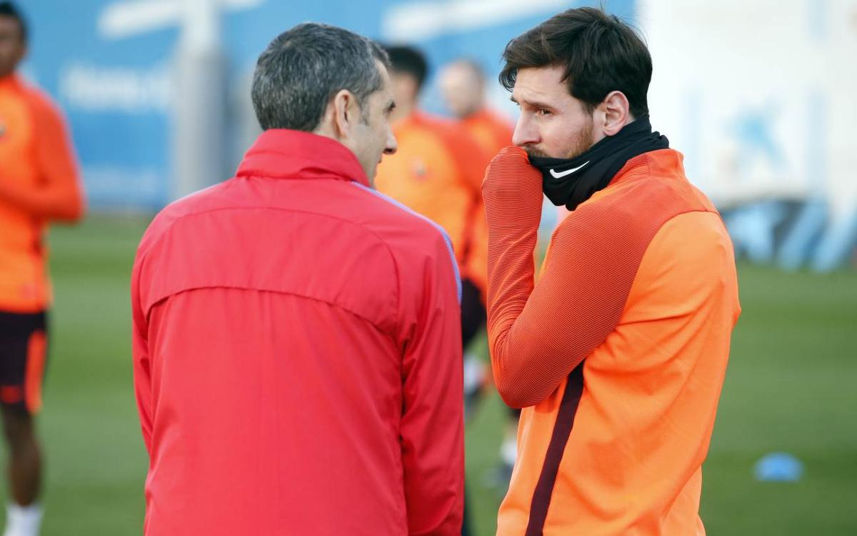 "Messi: ""Con Valverde me siento espectacular"""