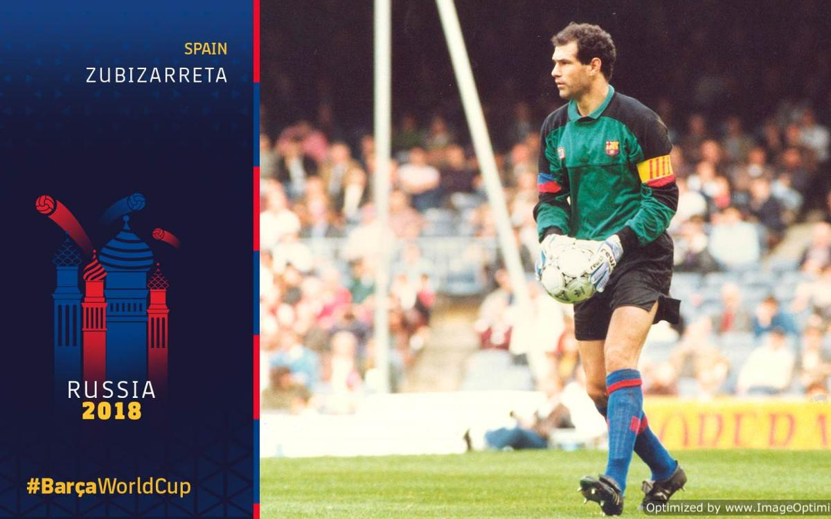 Barça at the World Cup Part 12: Zubizarreta's shorts