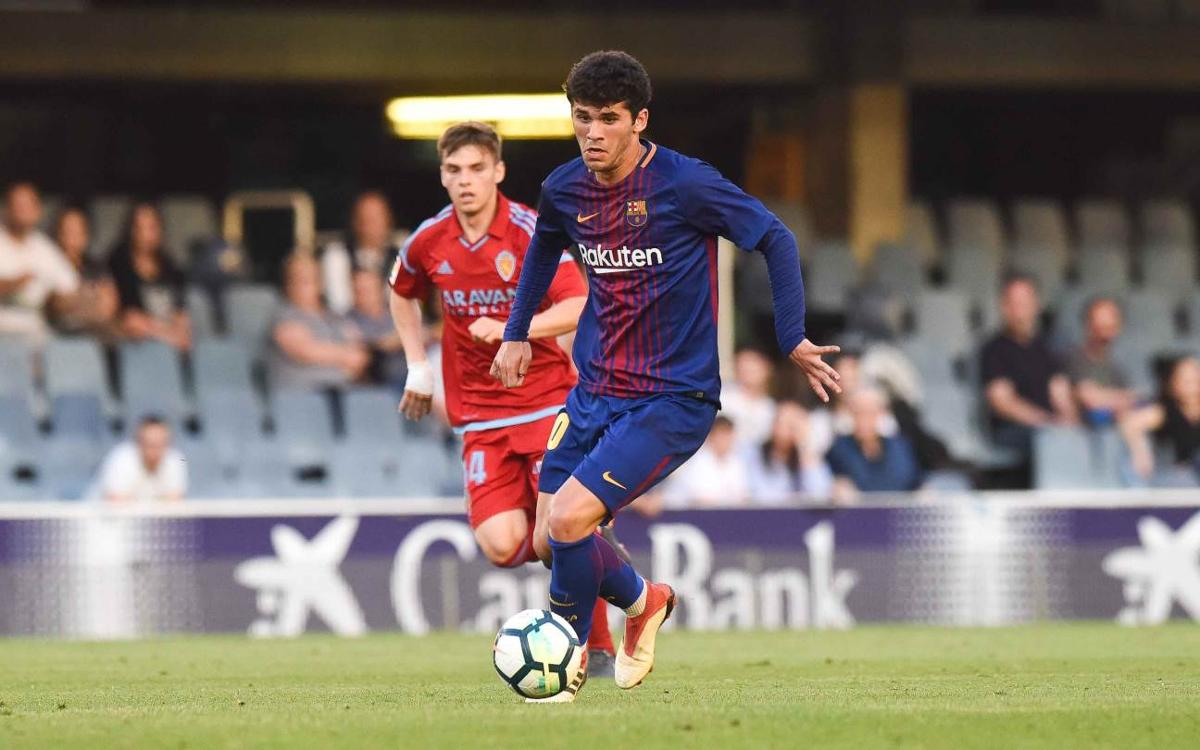 Carles Aleñá with a ruptured tendon in his right hamstring