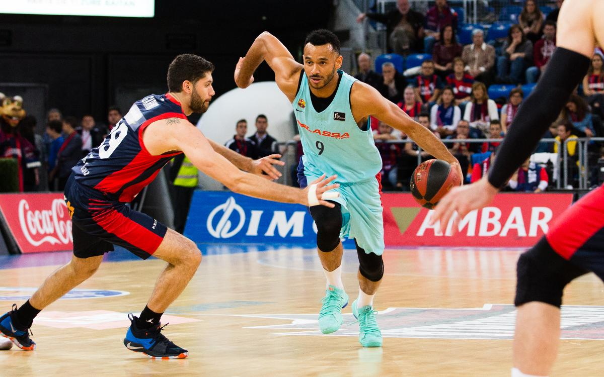 Kiroblet Baskonia v Barça Lassa: Defeated in Basque country (86-61)