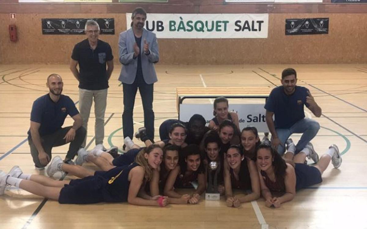Las cadetes B del Barça CBS, campeonas de Cataluña Interterritorial