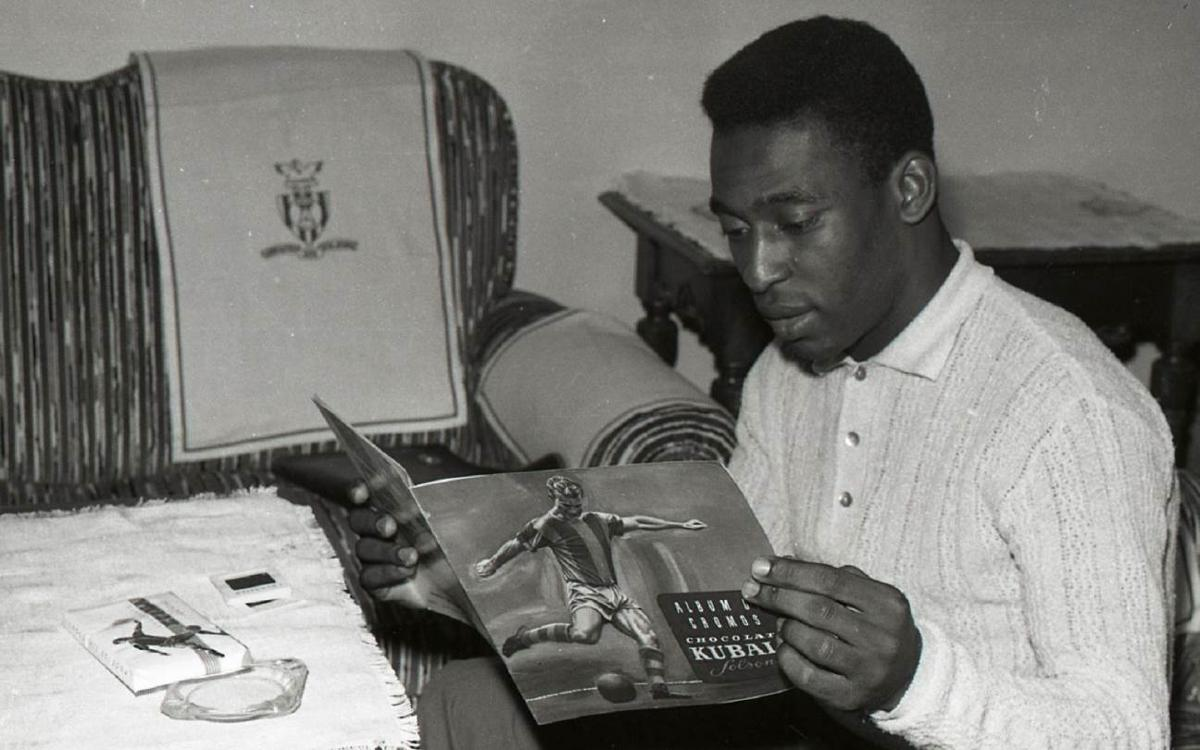 Pelé: 'The best football in the world is at Barça'