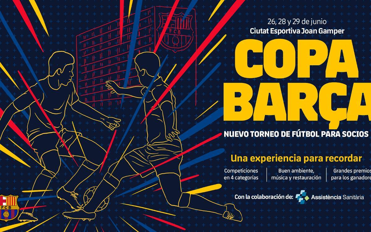 Comienza la Copa Barça 2018 de fútbol