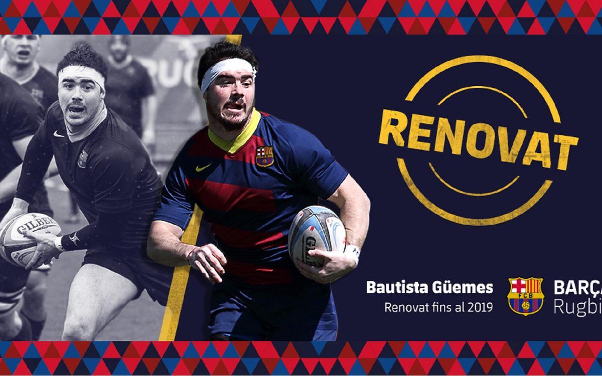 Bautista Guemes seguirá en el Barça una temporada más