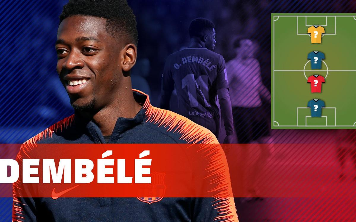 MY TOP FOUR: Dembélé names his football heroes