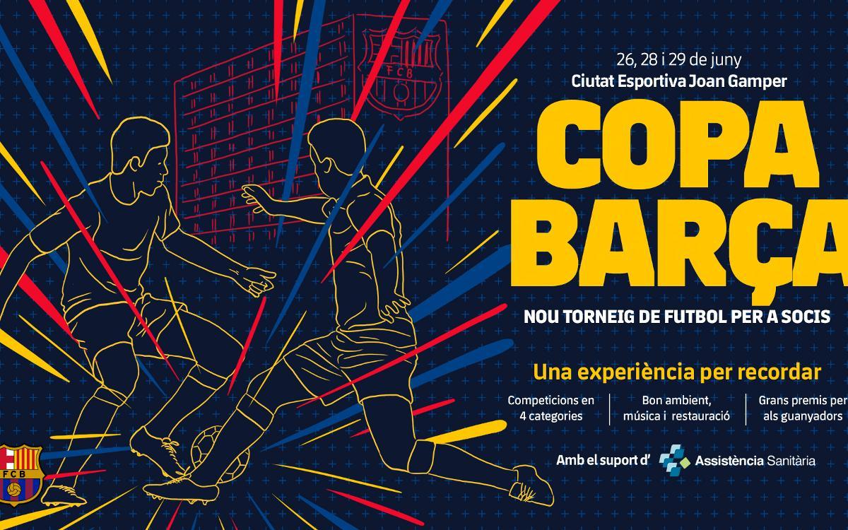 Comença la Copa Barça 2018 de futbol