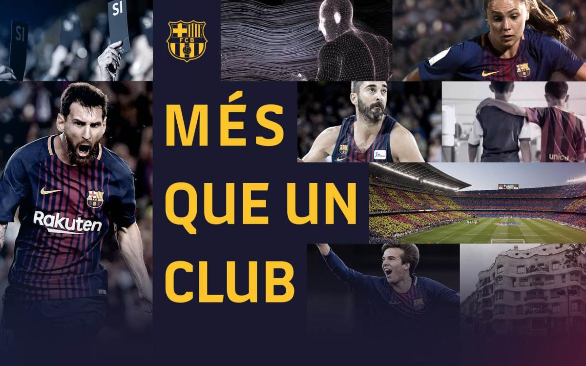 FC Barcelona launches international campaign commemorating the 50th anniversary of its slogan, More than Club