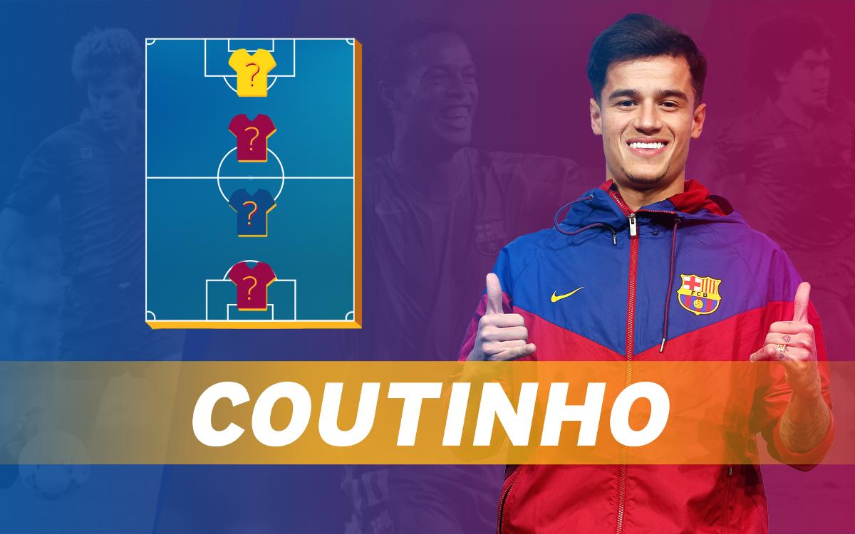 MY TOP4: Coutinho picks his football heroes