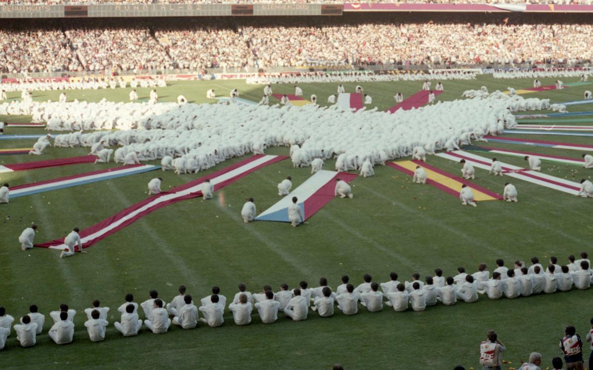 36 años de la inauguración del Mundial 82 en el Camp Nou