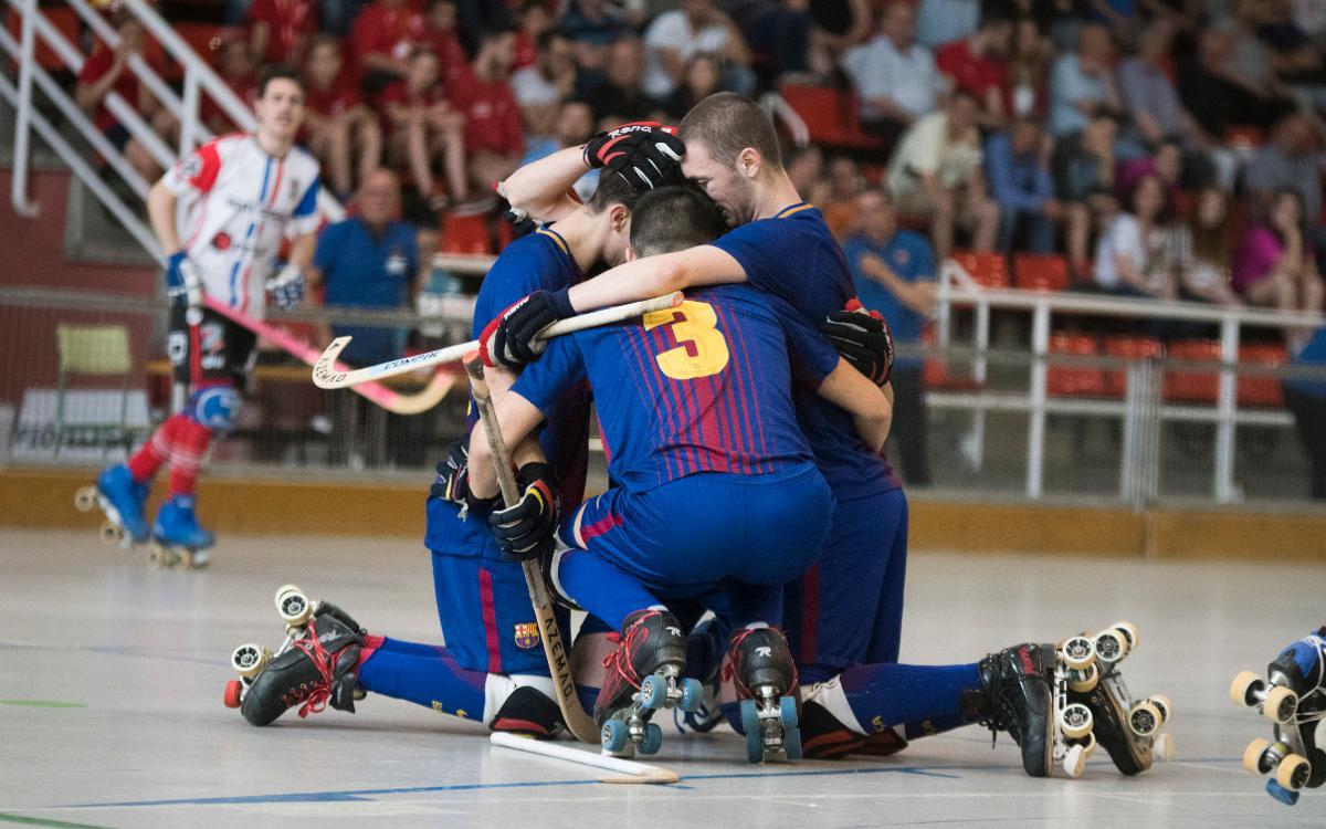 CH Juneda - Barça Lassa B (1-1): Campeones y ascenso