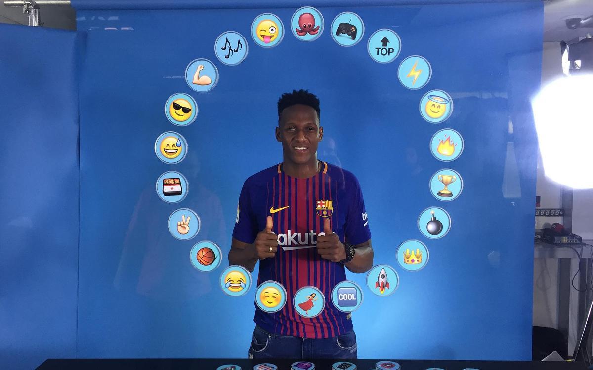 Barça Emojis: Així defineix Yerry Mina als seus companys de vestidor