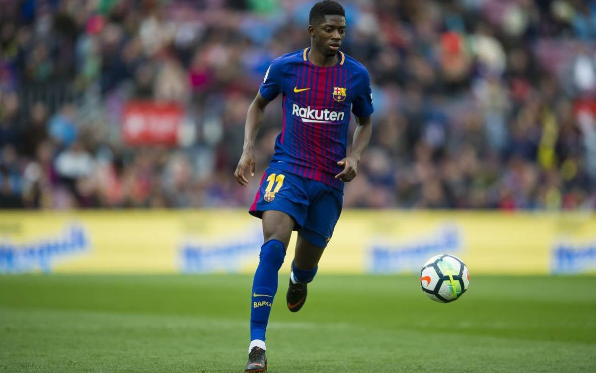"""Dembélé: """"He mejorado tácticamente y defensivamente"""""""