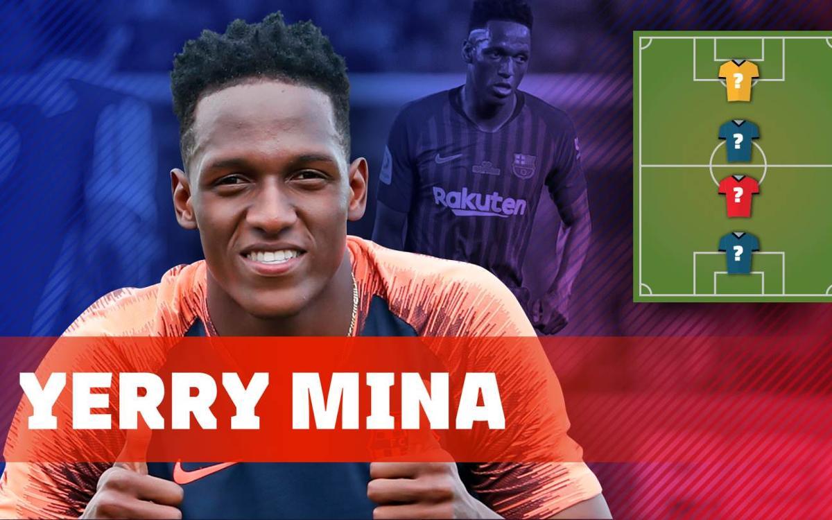 My Top 4: Yerry Mina reveals his heroes