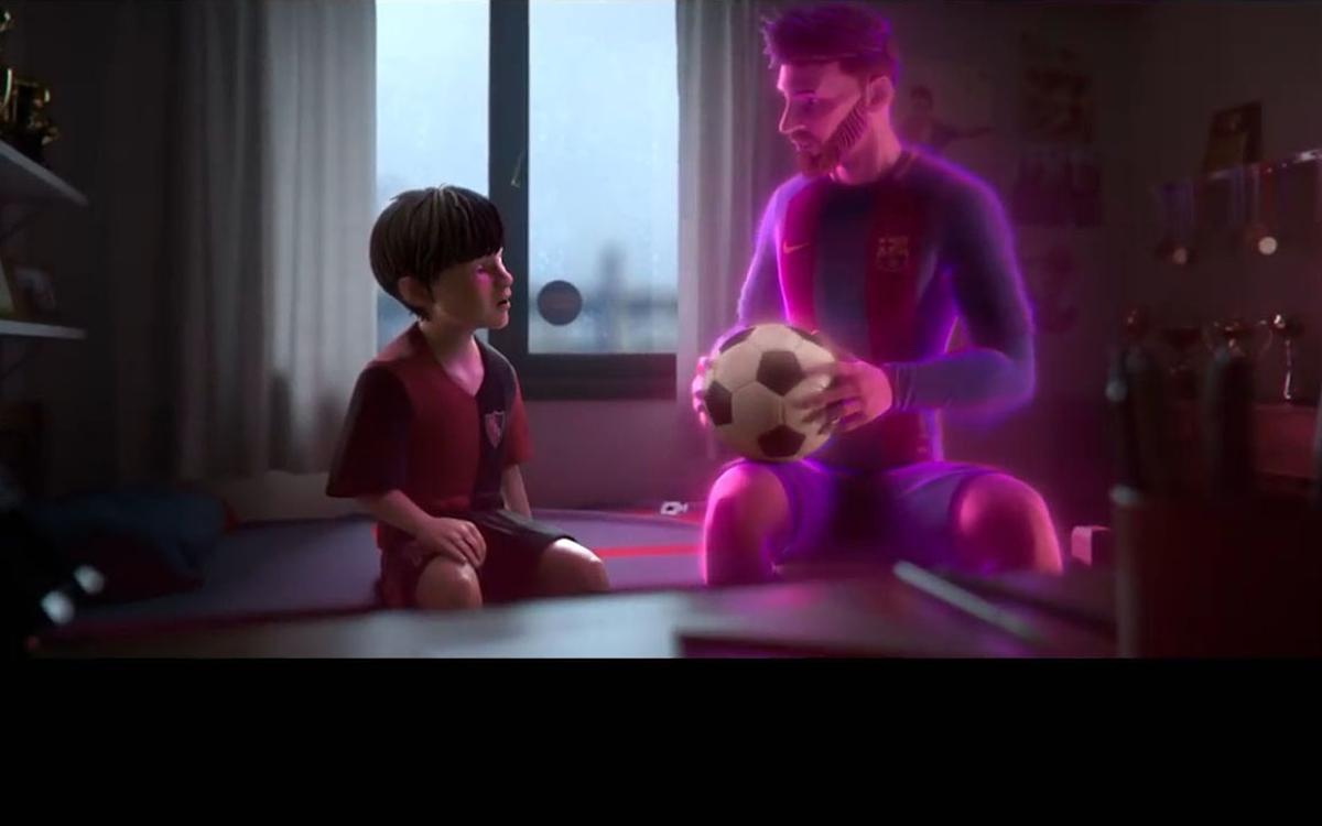 L'histoire de Leo Messi en dessin animé