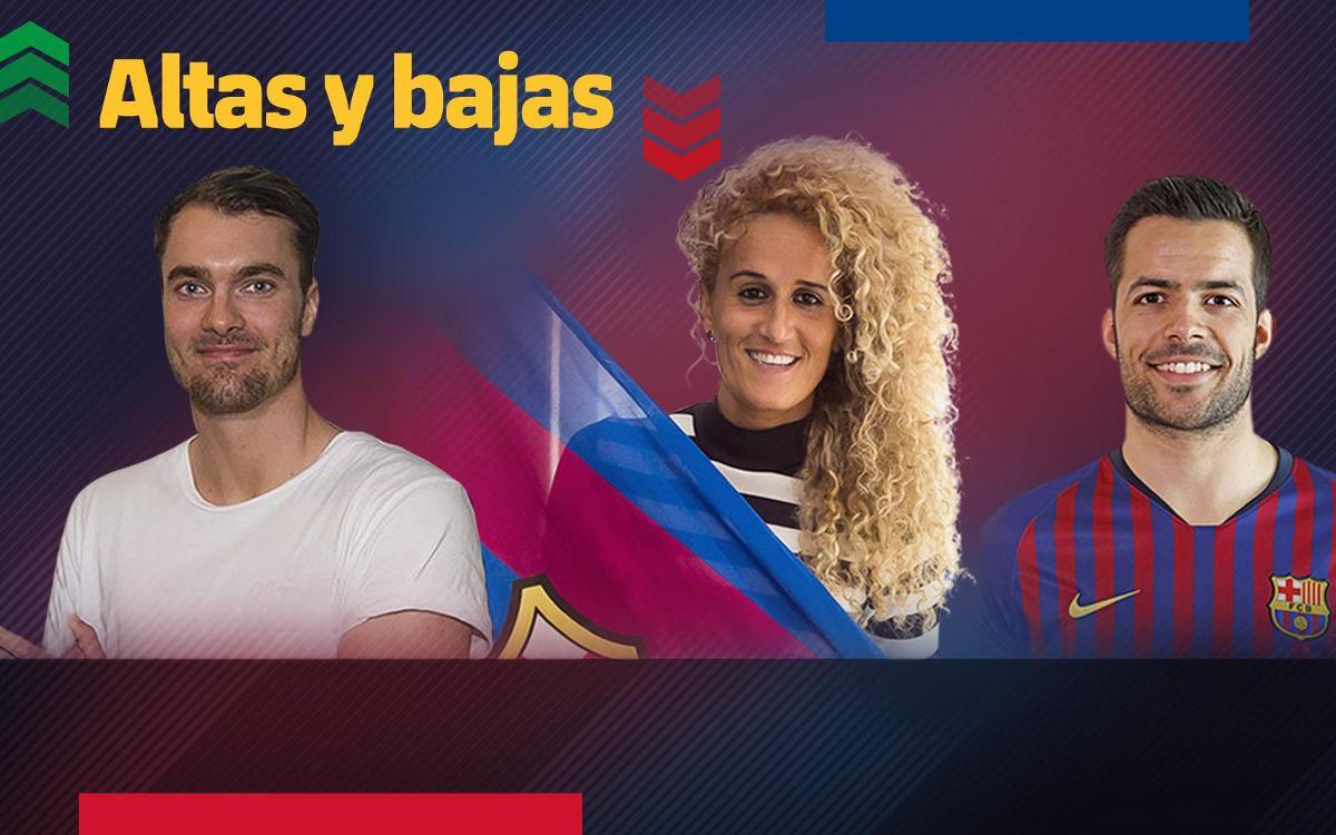 Las altas y las bajas del 2018 del FC Barcelona