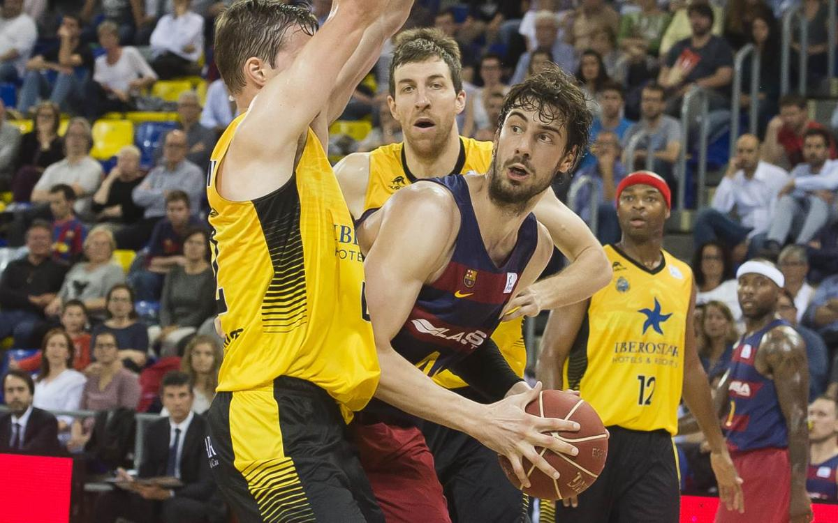 FC Barcelona v Lassa v Iberostar Tenerife: Narrow loss to tough opposition (65-73)