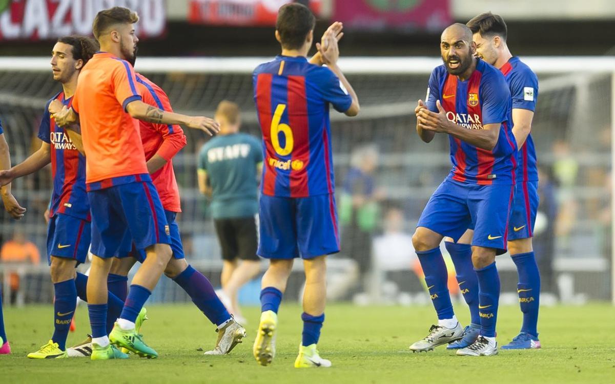 """""""Si algun equip ho pot fer, és aquest Barça B"""""""