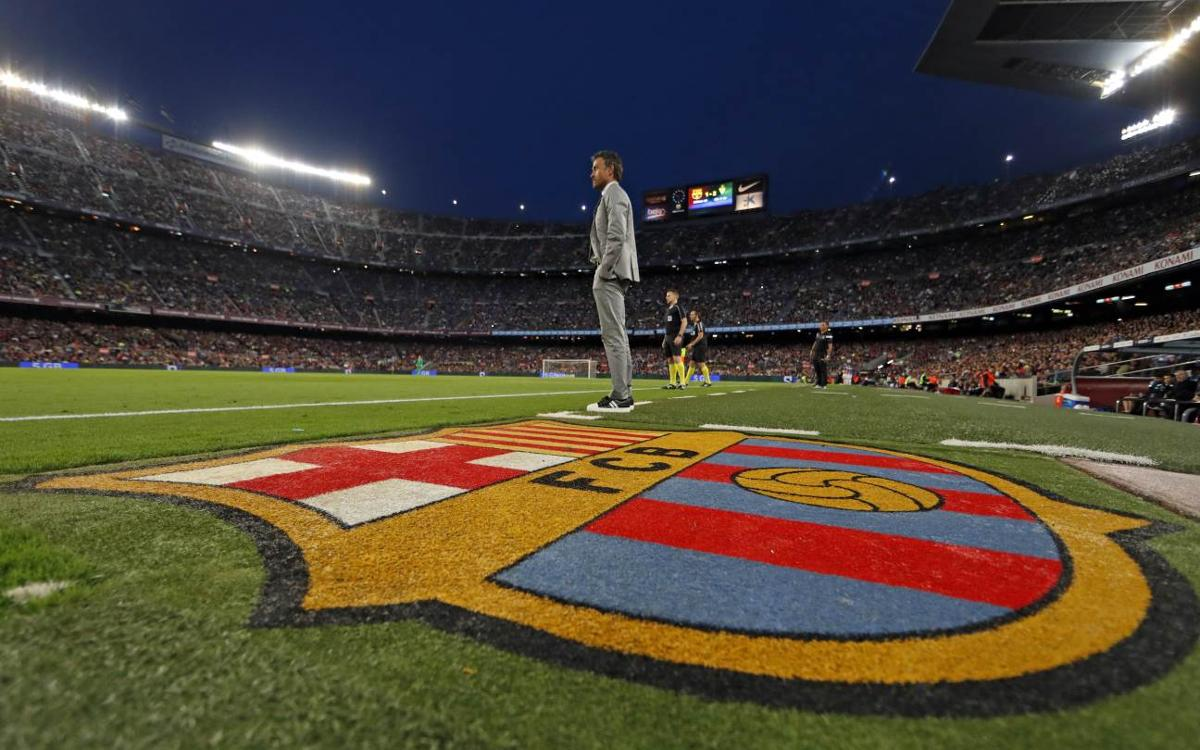 Inside View of Luis Enrique's final game at the Camp Nou