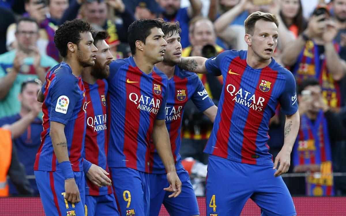 FC Barcelona's statistics in the 2016/17 La Liga
