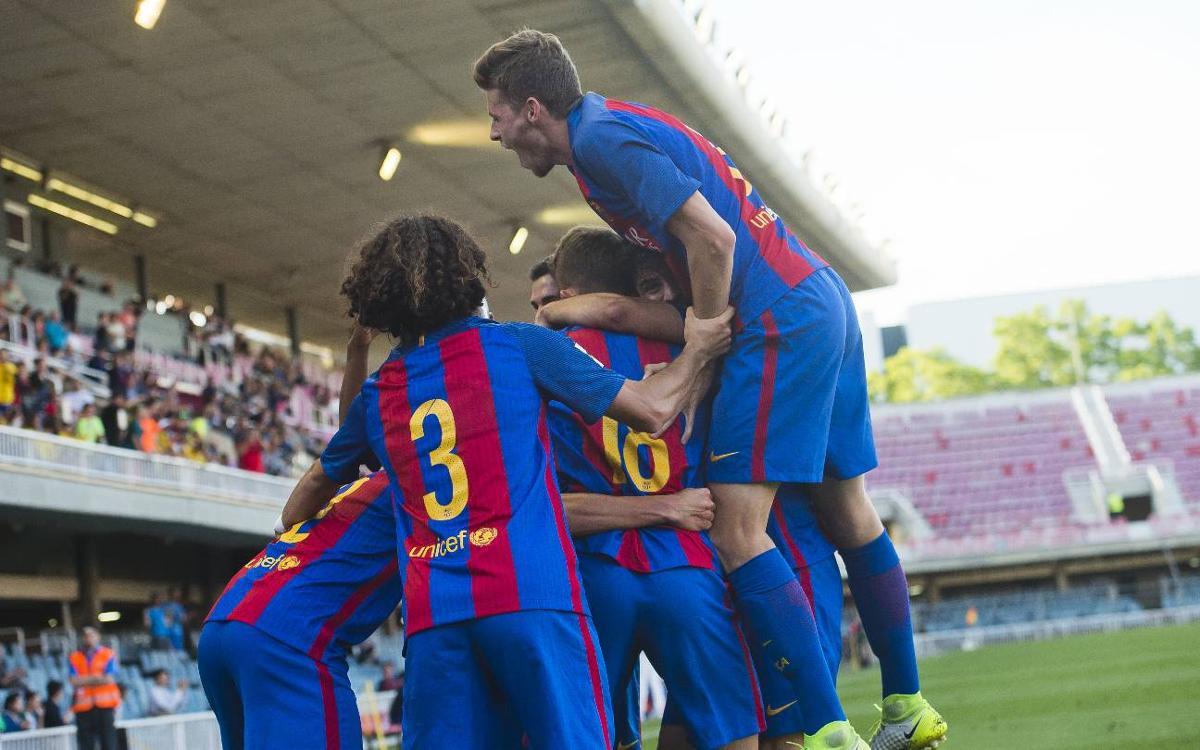 Barça B – CD Ebro: A record win (3-0)