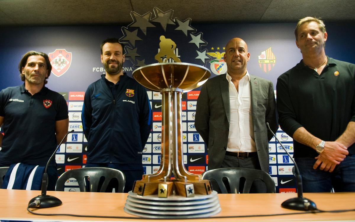 """Ricard Muñoz: """"Estem il·lusionats i motivats per guanyar el títol"""""""